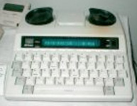Photo of a TTY Teletypewriter