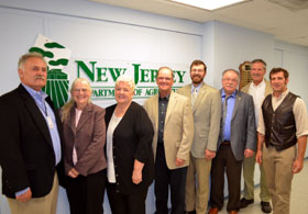 Photo of the 2015-2016 NJ State Board of Agriculture