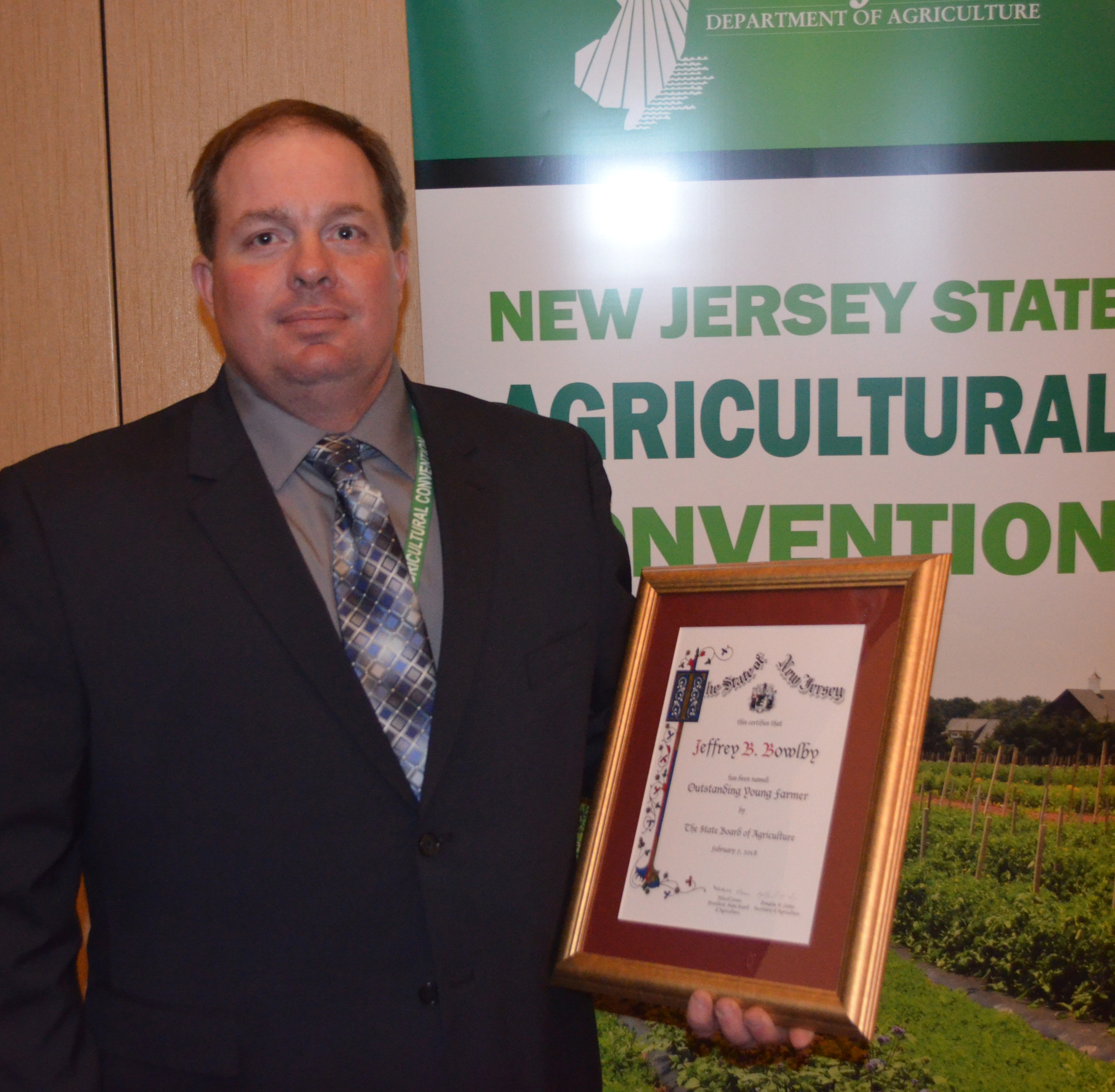 Outstanding Young Farmer  - Click to enlarge