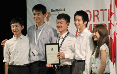From Right to left Charles Dai, Ronald Wang, Raymond Zhang, Jason Yang and Katherine Zhang - Click to enlarge