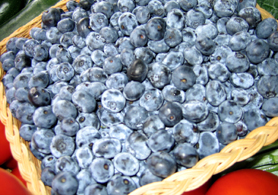 Photo of Jersey Fresh blueberries - Click to enlarge