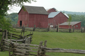 Photo of Howell Living History Farm - Click to enlarge