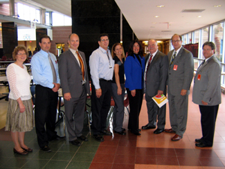 Photo of Hunterdon Central Regional HS roundtable group