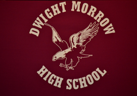 Photo of Dwight Morrow H.S. sign - Click to enlarge