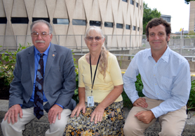 Photo of Angelo Trapani, Shirley Kline and Erick Doyle - Click to enlarge