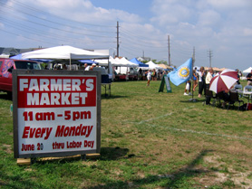 Photo of the Seaside Park Farmers Market - Click to enlarge