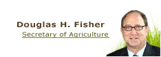 link to Douglas H. Fisher, Secretary of Agriculture page