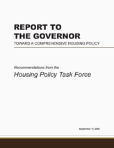 Housing Policy Task Force Report