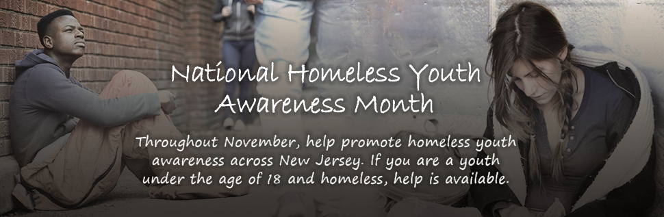 Homeless Youth Awareness Month