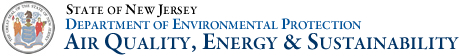 State of New Jersey-Department of Environmental Protection-Air Quality, Energy and Sustainability