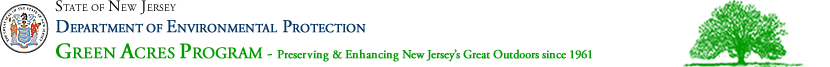 State of New Jersey Department of Environmental Protection Green Acres Program