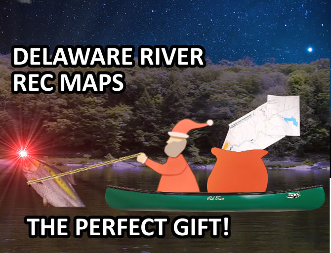 DRBC's Delaware River Rec Maps Make Great Gifts!