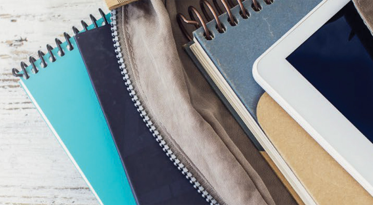 Photo: school notebooks