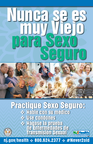 Never 2 Old 4 Safe Sex spanish version