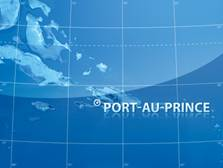 Port au Prince Haiti, map of