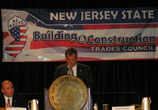 Commissioner Joins Governor Christie In Addressing Building and Construction Trades Convention