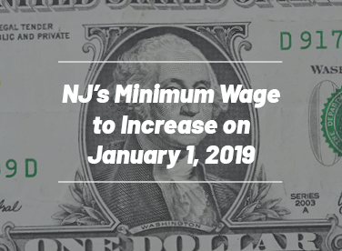 NJ Department of Labor Announces Minimum Wage Increase