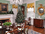 Dining Room Christmas Tree