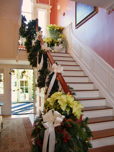 "Front Hall - ""Let peace begin with me"" by the Bridgewater, Westfield and New Providence Garden Clubs"