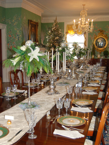 "Dining Room - ""Imagine"" by the Mt. Laurel Garden Club"