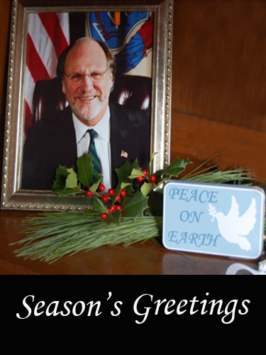 Season's Greetings from Drumthwacket, the official residence of the Governor of New Jersey