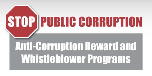 Anti-Corruption Reward and Whistleblower Programs