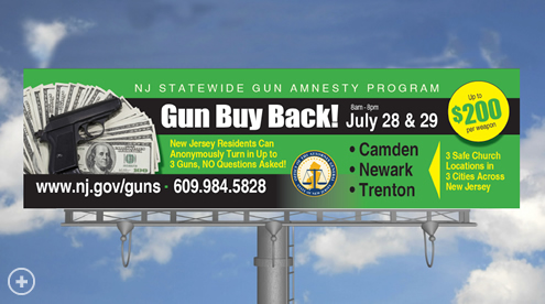Statewide Gun Buy Back July 28th and 29th