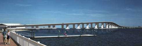 Rendering of future bridge (from Somers Point)