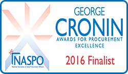 George Cronin award for procurement excellence 2016 finalist
